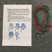 Monkeys Fist Key Ring Kit
